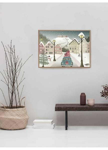 Bilde av PLAKAT - Let It Snow - Vissevasse