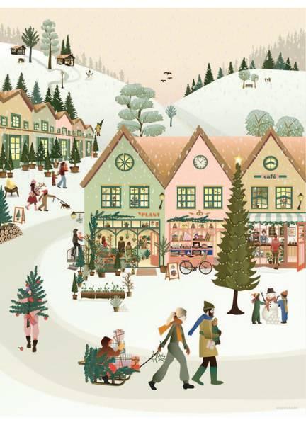 Bilde av PLAKAT - White Christmas - Vissevasse