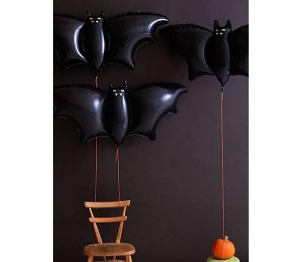 Bilde av BALLONGER - Halloween - Flaggermus - Meri Meri