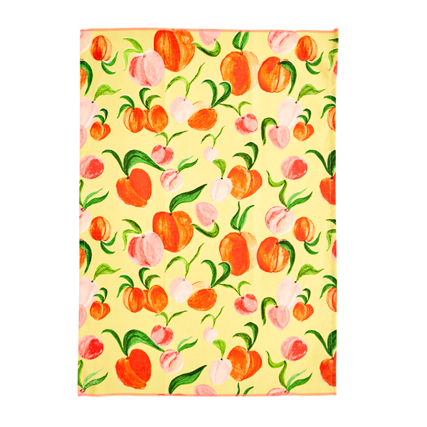 Bilde av KJØKKENHÅNDKLE - Peach Print - Rice