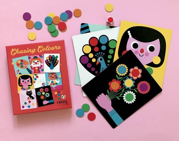 Bilde av TERNING SPILL  - Chasing Colours - Ingela Arrhenius