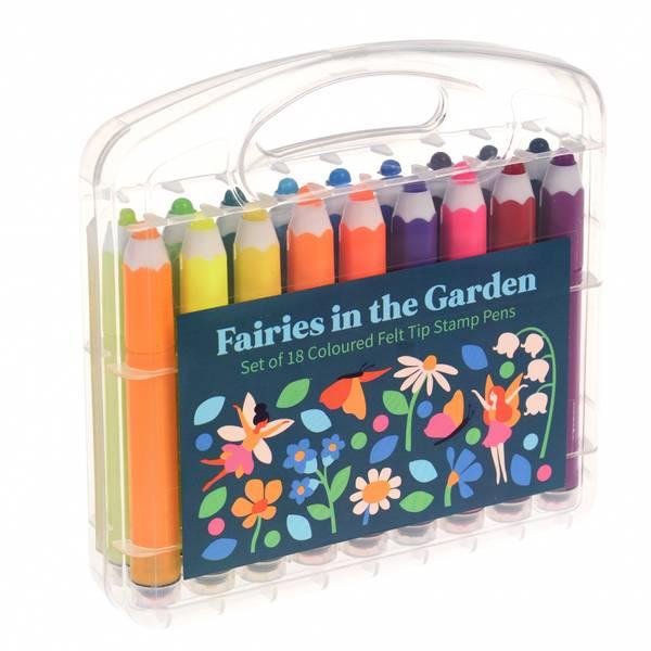 Bilde av TUSJ MED STEMPLER - Fairies in the Garden