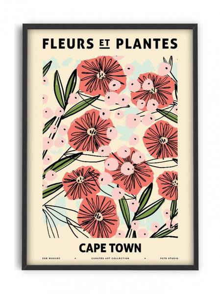 Bilde av PLAKAT - Zoe - Fleurs et Plantes - Capetown - 50x70