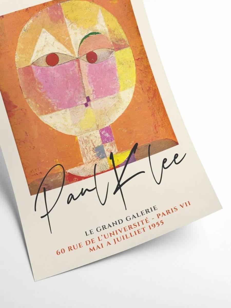 PLAKAT - Paul Klee - Senecio - 30x40